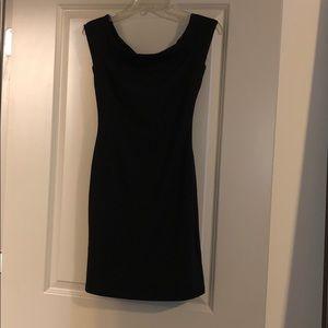 Lulus Off Shoulder Tight Black Dress Size S